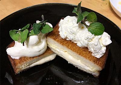 揚げアイス アイスフレンチトースト - パル