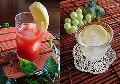 カフェと変わらぬ美味しさ、簡単炭酸水ドリンクレシピ9つ!夏バテ、熱中症対策にも!   美 Hacks