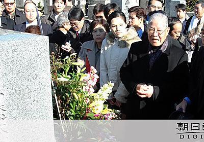日本統治や戦後の混乱、民主化の力に 李氏「認識台湾」:朝日新聞デジタル