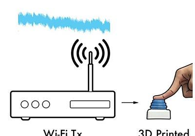 3Dプリンタで出力可能なWi-Fiデバイス、電源も回路も不要--ワシントン大学が開発 - CNET Japan