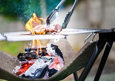 抜群の通気性で炭がよく燃える!ポータブルBBQグリル「Folding Fire」 | ライフハッカー[日本版]
