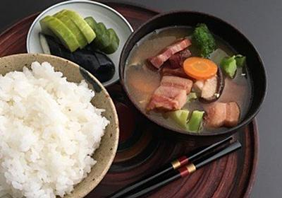 家庭料理はごちそうでなくていい。ご飯とみそ汁で十分。土井善晴さんが「一汁一菜」を勧める理由   ハフポスト