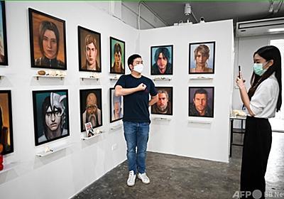 アニメキャラの死を悼む個展、タイで開催 「進撃の巨人」も 写真16枚 国際ニュース:AFPBB News