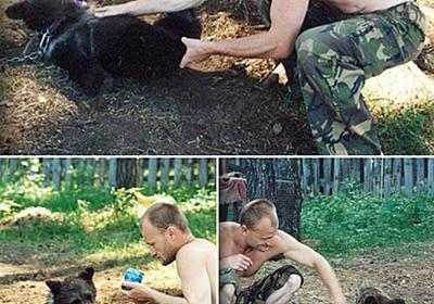 野生の子熊をペットとして飼っていたロシア人 骨にだけになって発見される | ニコニコニュース