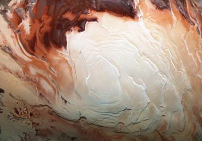 MIT Tech Review: 火星の南極に新たな地下湖、生命体が見つかる可能性も