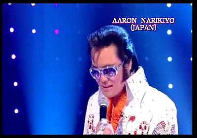 "Elvis Presley Aaron Narikiyo (Japan)  ""BBC TV"" - YouTube"