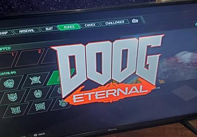 VTuber戌神ころねの『DOOM Eternal』イースターエッグ「DOOG」が5日で削除される。本人がゲームをプレイする前に消滅 | AUTOMATON