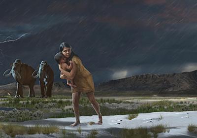 1万年前の子連れの旅路、足跡化石から判明、驚きの詳しさ | ナショナルジオグラフィック日本版サイト