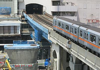 銀座線渋谷駅を130m動かす   日経 xTECH(クロステック)