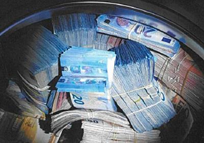 CNN.co.jp : 洗濯機から35万ユーロ、資金洗浄容疑で男を逮捕 オランダ