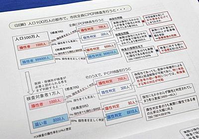 「PCRが受けられない」訴えの裏で… 厚労省は抑制に奔走していた:東京新聞 TOKYO Web
