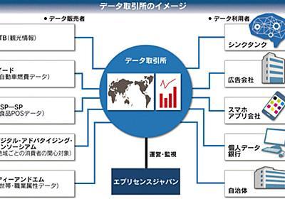 ビッグデータ「取引所」始動 来月、JTBなど5社売り手 安全性高め流通後押し :日本経済新聞