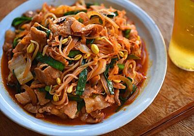 ばっちり味が決まる!豚キムチのレシピ/作り方:白ごはん.com
