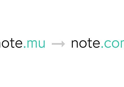 note が note.com のドメインを取得。サービスURLの移行も検討。|note公式|note