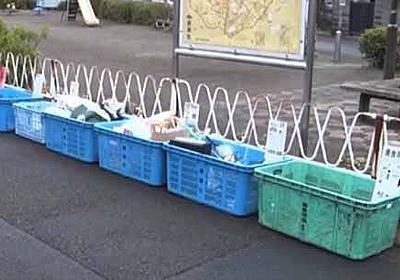 ゴミに出された空き瓶のリサイクルの話:ソノサキ【2018/04/17】 - 何ゴト?