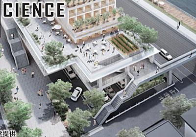 水害対策に「水上都市」 浮かぶ家・1階は柱だけの構造: 日本経済新聞