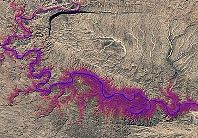 グーグル、地球上の川や湖の変化を地図上で視覚化--32年分のデータを公開 - CNET Japan