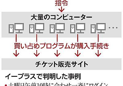 チケット買い占め、業者を直撃 「否定も肯定もしない」:朝日新聞デジタル