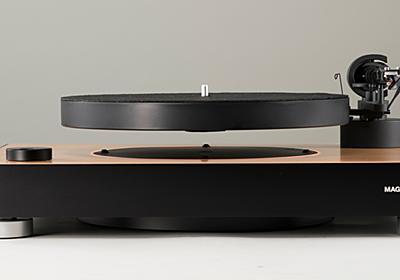 ターンテーブルが空中浮遊するアナログプレーヤー。約39.8万円 - AV Watch