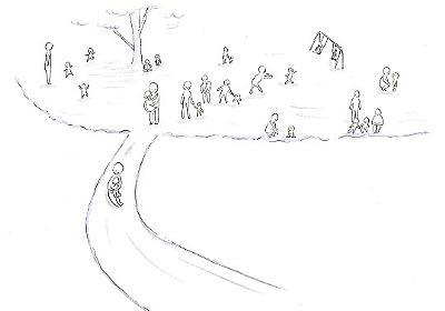 """子どもが語った""""頭の中のお空と神様""""の話 - 心理カウンセラーkokokakuの、こころ育てブログ"""