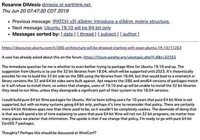 Ubuntuが32ビット版(i386)の提供終了へ - Wine開発者ら議論活発化 | マイナビニュース