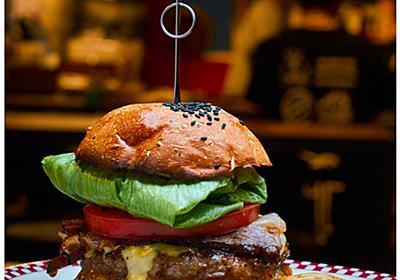 美しい光の撮影照明キットで撮る料理写真「立派なハンバーガー」 | 使える機材 Blog!