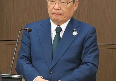 NHK籾井会長がインフル抱え会見 最後もお騒がせ - 芸能 : 日刊スポーツ