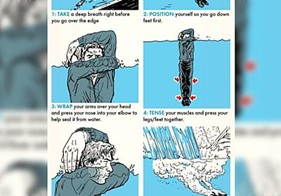 【ライフハック】滝壺に落ちそうになった時に生き残る方法が役に立つと話題に「あと3分で滝壺なので助かります」 - Togetter