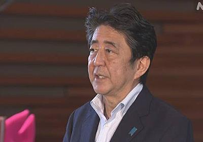 安倍首相「緊急事態再宣言は不要」検査能力強化で万全期す   新型コロナウイルス   NHKニュース