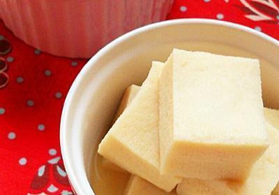 レンジで簡単☆高野豆腐のふわふわ煮物。 by ゆぅゅぅ 【クックパッド】 簡単おいしいみんなのレシピが340万品