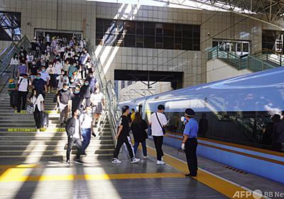 中秋節連休は中国国内観光客が8000万人超に 中・高級ホテルの予約が急増 写真1枚 国際ニュース:AFPBB News