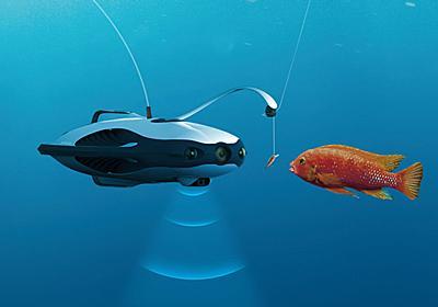 4K撮影も可能で、LEDの光とルアー(疑似餌)で魚をおびき寄せる潜水ドローン「PowerRay」 - GIGAZINE