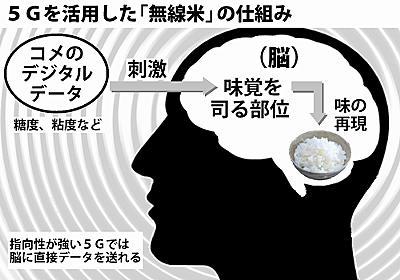 甘みとホカホカ、脳に直接 「無線米」開発 新潟・魯沼大学