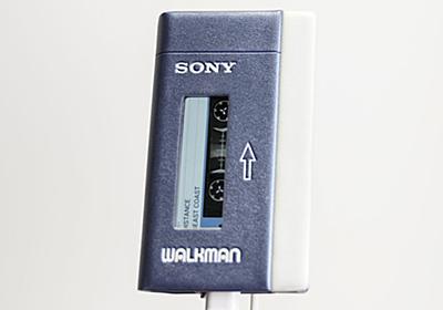 """""""カセットテープの初代ウォークマン""""を再現した、ハイレゾ対応ウォークマン - AV Watch"""