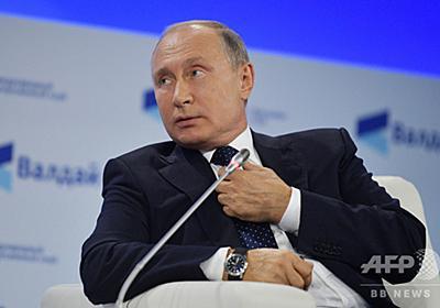 サウジ記者不明、米国に「責任の一端」 プーチン氏 写真2枚 国際ニュース:AFPBB News