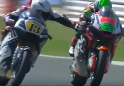 Moto2 | R.フェナティが他選手のブレーキを握る危険行為で失格 【 F1-Gate.com 】