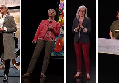 「iPad Pro」「MacBook Air」「Mac mini」発表会に登場した6人の女性たち - ITmedia PC USER