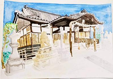 因島ユネスコ絵画展「私の町の宝物」小中学生209点 | せとうちタイムズ