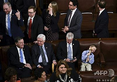 子どもや赤ちゃんでにぎわう議場、史上最も多様な米議会開幕 写真11枚 国際ニュース:AFPBB News