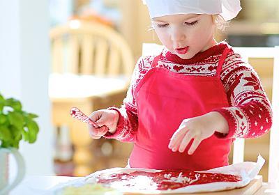 子供のかわいいエプロンの簡単な作り方!三角巾も一緒に簡単手作り   子育て応援サイト MARCH(マーチ)