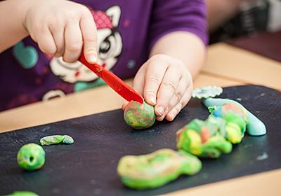 「シリコンねんど」は汚れない、乾かない!~遊び方が広がる新素材ねんど~ - 塾の先生が英語で子育て!