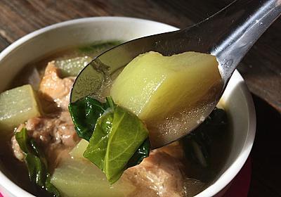 唐辛子の葉を使ったフィリピンのスープ【チキンティノラ】レシピ | エスニック料理レシピの研究ブログ