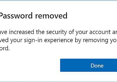 Microsoft、パスワードなしログインの一般提供開始 - ITmedia NEWS