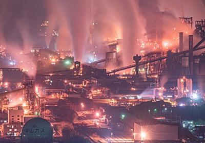 広島県福山市にある世界最大級の製鉄所、夜になると「FFやん」ばりの壮大なファンタジー世界になるのでぜひ見てほしい - Togetter