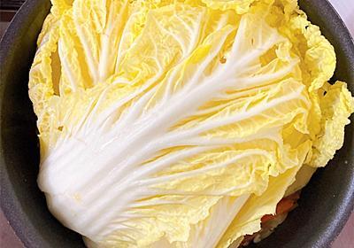 白菜丸ごと鍋が簡単で美味しいよ - ADHD×ASD女の生活のあれこれ