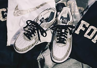 NIKE AIR FORCE 1 LOW COCOA SNAKEが11/3に海外発売予定