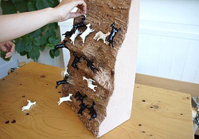 絶壁の崖に張り付くヤギに憧れて。絶妙なバランス感覚に震える「崖の上のヤギゲーム」を作ってみた - それどこ