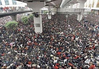 恐るべし…中国で新年の里帰りをするのは気が進まない光景:らばQ