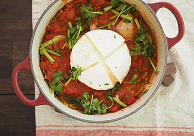 トマト缶とカマンベールの「とろとろミルフィーユトマト鍋」で風邪予防もできればシメたもの【北嶋佳奈】 - メシ通 | ホットペッパーグルメ