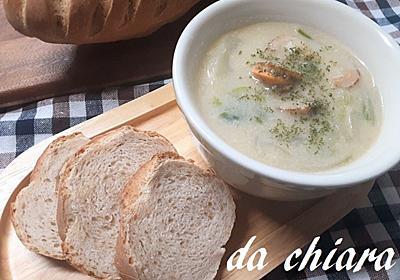 3倍のパートフェルメンテ(発酵生地)を使って作る伝統的な【パン・ブリエ】 - キアラの気まぐれ料理とパン日記